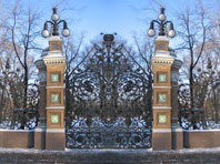 Ворота в Михайловский сад